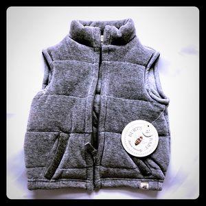 Organic Cotton Puffer Vest